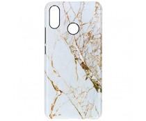 Selencia White Marble Passion Hard Case für das Huawei P Smart Plus