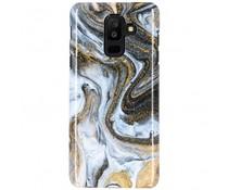 Black Lava Passion Hard Case Galaxy A6 Plus (2018)