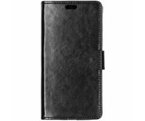 Stilvolles Booklet Schwarz für das Motorola Moto E5 Play