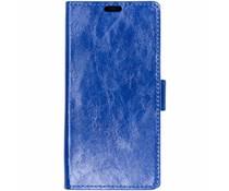 TPU Bookcase Blau für Wiko Harry 2