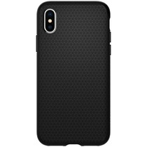 Spigen Liquid Air™ Case Schwarz iPhone Xs / X