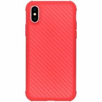 Xtreme Carbon-Hülle Rot für das iPhone Xs / X