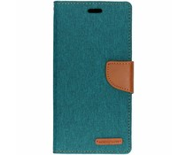 Mercury Goospery Canvas Diary Case Grün für das Huawei Mate 20 Lite