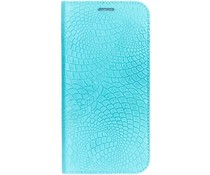 iMoshion Snake Booklet Case Blau für das Samsung Galaxy S6