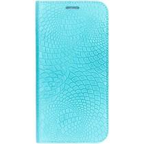iMoshion Snake Booklet Case Blau für das Samsung Galaxy S6