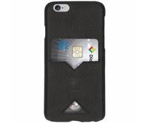 iMoshion Leather Back Cover Card Slot Schwarz für das iPhone 6 / 6s