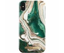 iDeal of Sweden Golden Jade Marble Fashion Back Case für das iPhone Xs Max
