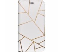Design TPU Bookcase für das Samsung Galaxy J4 Plus