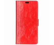 TPU Bookcase Rot für das HTC U12 Life