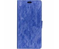 TPU Bookcase Blau für das HTC U12 Life