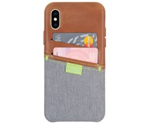 Gecko Covers Limited Cover Braun für das iPhone Xs / X