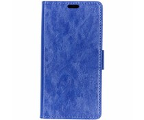 TPU Bookcase Blau für das Motorola One