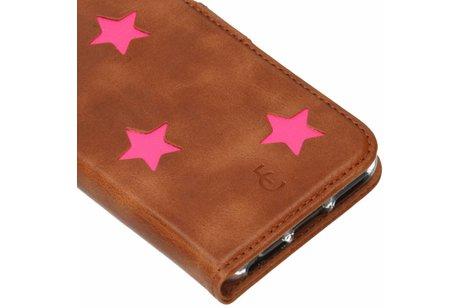 Fabienne Chapot Pink Reversed Star Booktype für das iPhone 8 / 7 / 6s / 6