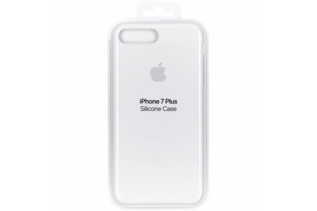 Apple Silikoncase Weiß für das iPhone 8 Plus / 7 Plus