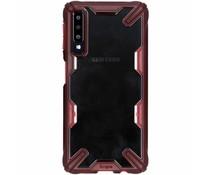 Ringke Fusion X Case Rot für das Samsung Galaxy A7 (2018)