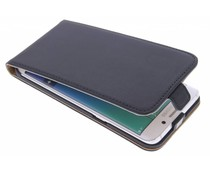 Selencia Luxus Flipcase Schwarz Samsung Galaxy S6 Edge Plus
