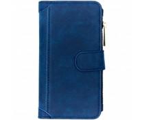 Luxuriöse Portemonnaie-Hülle Blau für Samsung Galaxy S10E