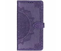 Mandala Booktype-Hülle Violett für das Nokia 8.1