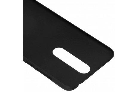 Nokia 3.1 Plus hülle - Unifarbene Hardcase-Hülle Schwarz für