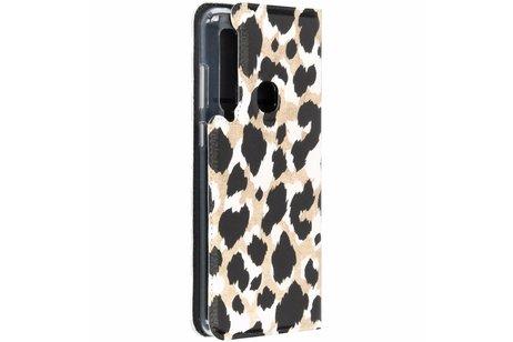 Panther Design TPU Bookcase für das Samsung Galaxy A9 (2018)
