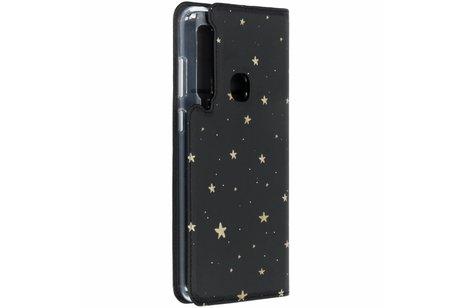 Goldsterne Design TPU Bookcase für das Samsung Galaxy A9 (2018)