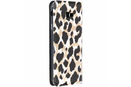 Panther Design TPU Bookcase für das Samsung Galaxy J4 Plus