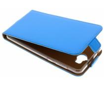 Selencia Blauer Luxus TPU Flipcase Huawei Y6 (2017)