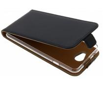 Selencia Schwarzer Luxus TPU Flipcase General Mobile GM6