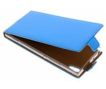 Selencia Blauer Luxus TPU Flipcase Sony Xperia XA1