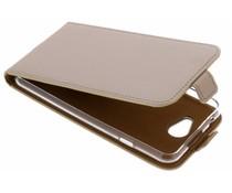 Selencia Goldfarbener Luxus TPU Flipcase General Mobile GM6