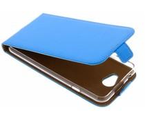 Selencia Blauer Luxus TPU Flipcase General Mobile GM6