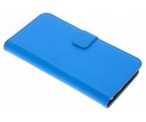 Selencia Blauer Luxus TPU Book Case General Mobile GM8