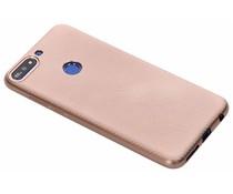 Carbon-Hülle Roségold für das Huawei Y7 (2018)