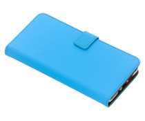 Selencia Luxus TPU Bookcase Blau für Nokia 7 Plus