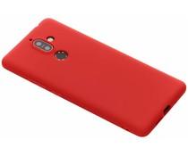 Color TPU Hülle Rot für Nokia 7 Plus