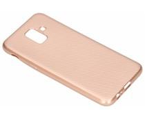 Carbon-Hülle Roségold für das Samsung Galaxy A6 (2018)