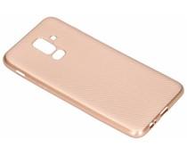 Carbon-Hülle Roségold für das Samsung Galaxy A6 Plus (2018)