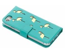 Flamingo Booklet Case Mintgrün für das iPhone 8 / 7 / 6s / 6