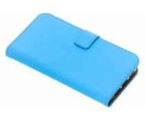 Selencia Luxus TPU Book Case Blau für das iPhone Xr
