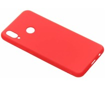 Color TPU Hülle Rot für das Huawei P Smart Plus