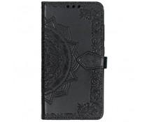 Mandala Booktype-Hülle Schwarz für das Xiaomi Pocophone F1