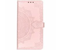 Mandala Booktype-Hülle Rosa für das Xiaomi Pocophone F1