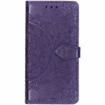 Mandala Booktype-Hülle Violett Samsung Galaxy Grand Prime
