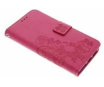 Kleeblumen Booktype Hülle für Huawei Y5 2 / Y6 2 Compact
