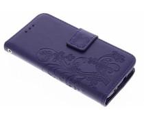 Kleeblumen Booktype Hülle für Samsung Galaxy S5 Mini