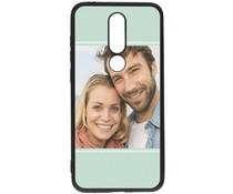 Gestalten Sie Ihre eigene Nokia 5.1 Plus Gel Hülle -Schwarz