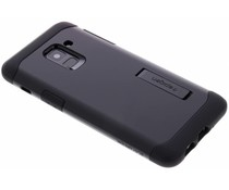 Spigen Schwarzes Slim Armor Case für das Samsung Galaxy A8 (2018)