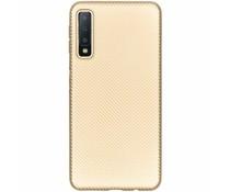 Carbon-Hülle Gold für das Samsung Galaxy A7 (2018)