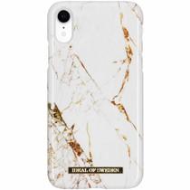 iDeal of Sweden Carrara Gold Fashion Back Case für das iPhone Xr