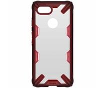 Ringke Fushion X Case Rot für das Google Pixel 3